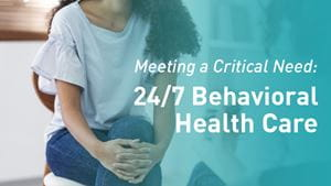 Behavioral Health Access and Crisis Center