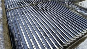 Solar Farm Opens