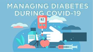 information for diabetes patients during coronavirus outbreak
