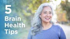 Cognitive health tips